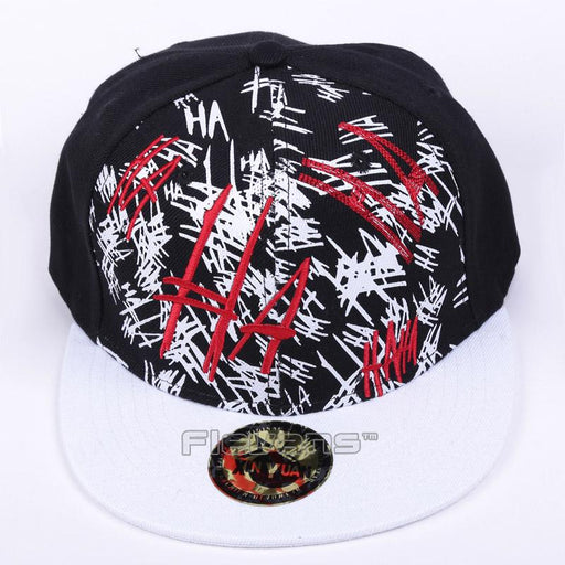 Suicide Squad The Joker Laughing Snapback Baseball Hat Cap