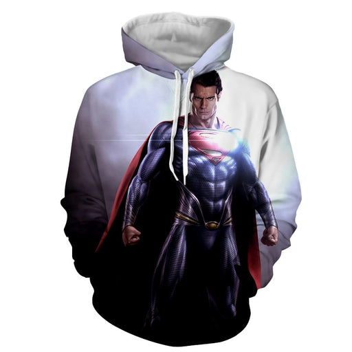 Superman Stunning Metaphor Design Full Print Hoodie