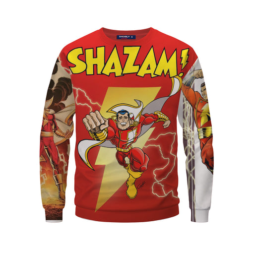Great Mike's Shazam Unparalleled Energizing Design Sweatshirt