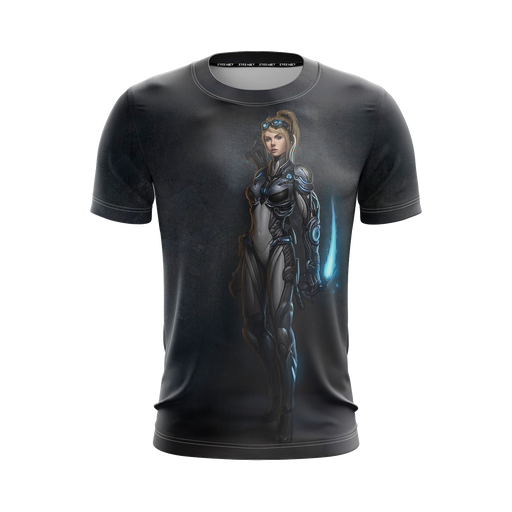 StarCraft 2 Tough Nova Covert Ops Saber Blade Black T-Shirt