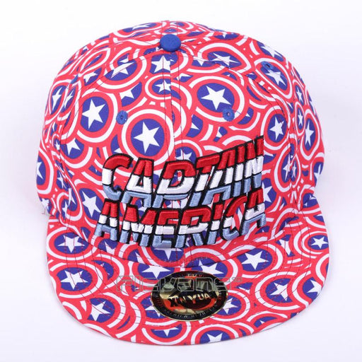 The Avengers Captain America Letters Funky Cool Baseball Cap