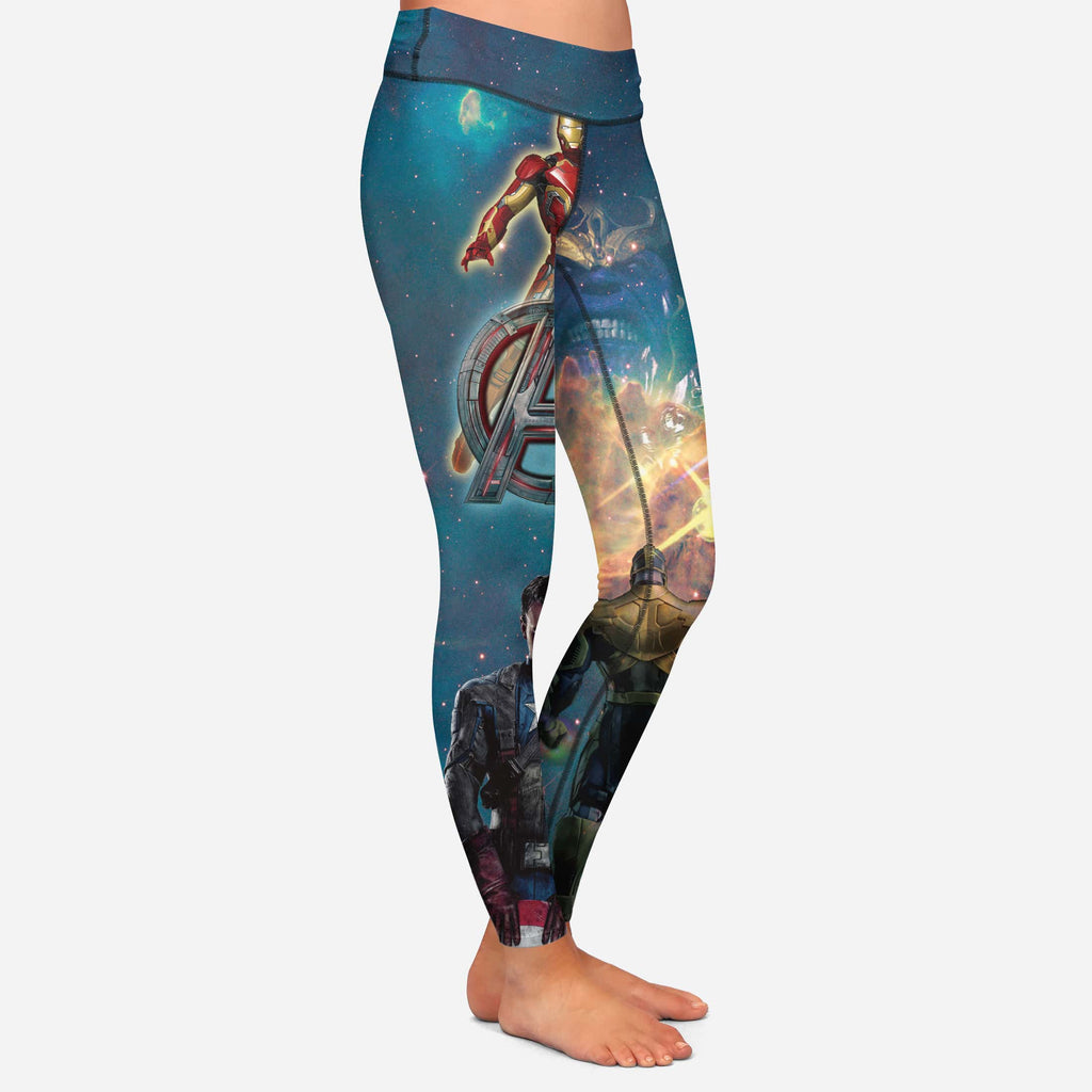 810d5428b1b0e The Avengers Marvel Cosplay Women Leggings Yoga Pants — Superheroes Gears