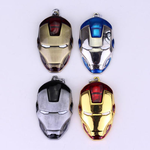The Avengers Marvel Superhero Iron Man Face Mask Keychain