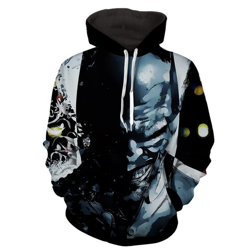 The Clown At Midnight Joker Design Full Print Hoodie