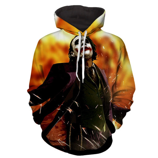 The Cold-Blooded Supervillain Joker Design Full Print Hoodie