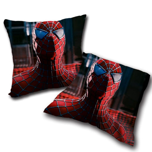 The Cool Spider-Man Close-Up Decorative Throw Pillow