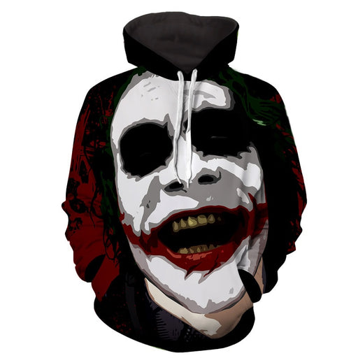 The Devil's Advocate Joker Design Full Print Hoodie