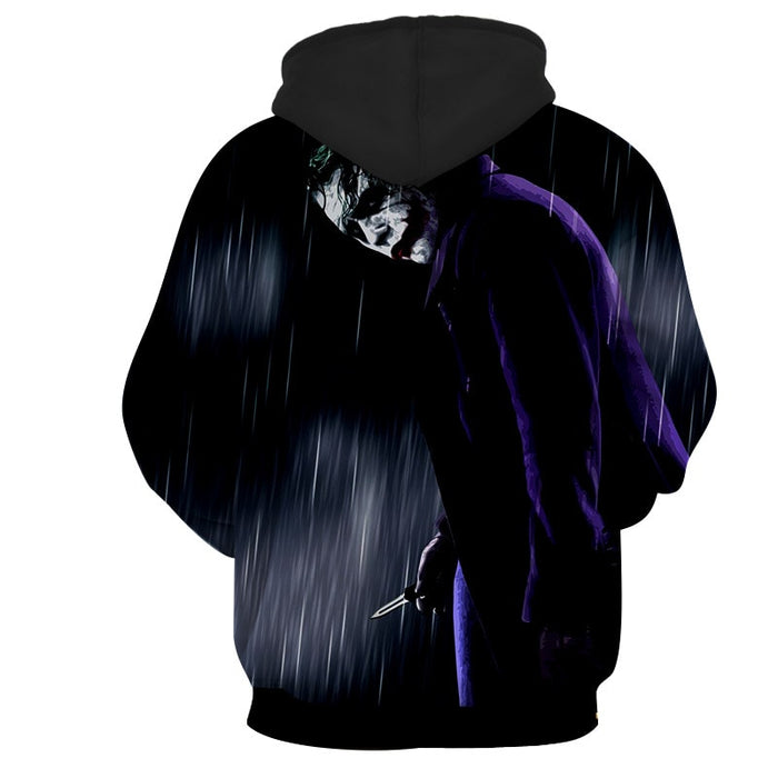 The Exhausted Weary Joker Dark Design Full Print Hoodie