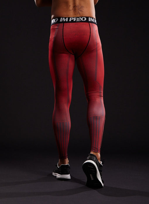 The Flash Superheroes Cool Design Men Compression Training Leggings
