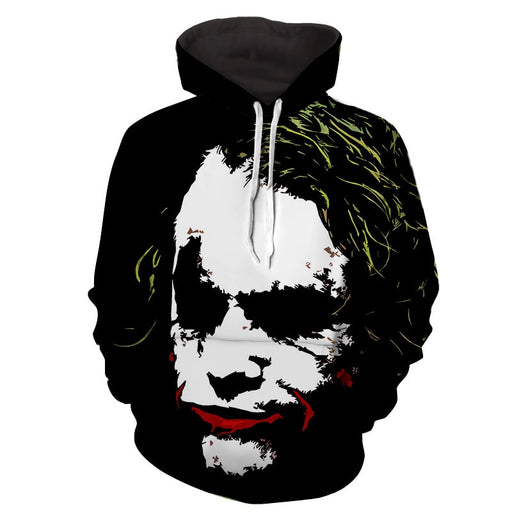 The Freakin Badass Joker Design Full Print Hoodie