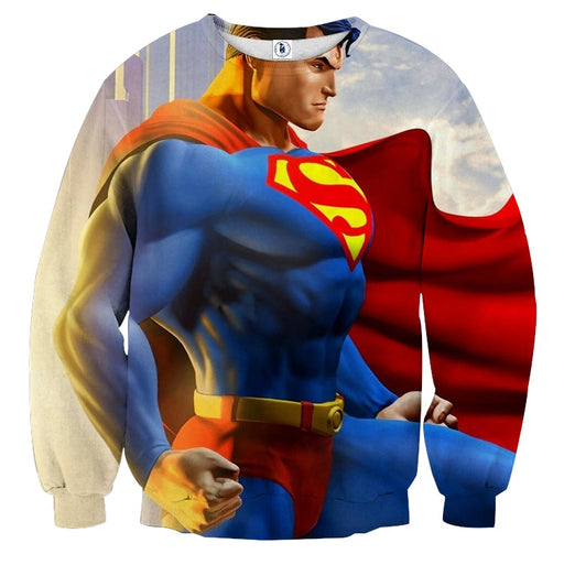 The Great Superman In the Universe Full Print Sweatshirt