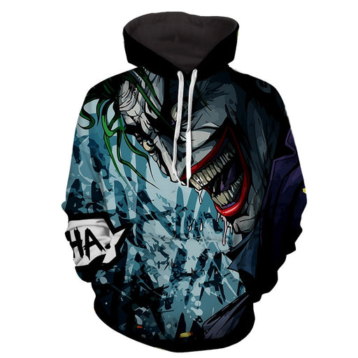 The Homicidal Psychopath Joker Design Full Print Hoodie