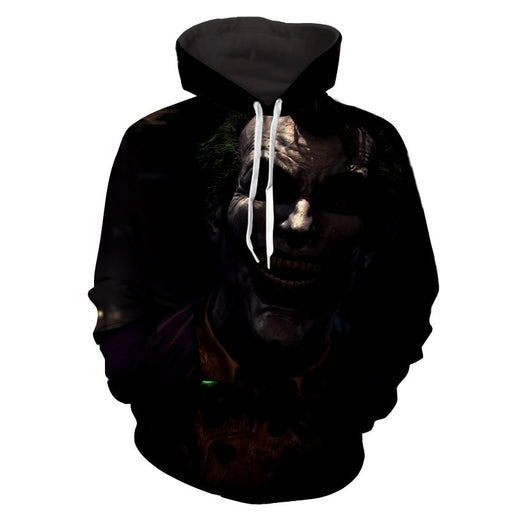 The Ill-Tempered Harsh Joker Design Full Print Hoodie