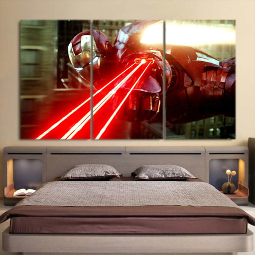 The Iron Man's Power Arc Reactor 3pcs Canvas Print