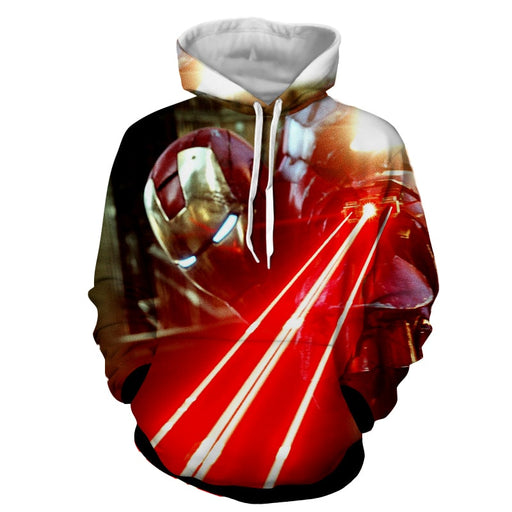 The Iron Man's Power Arc Reactor Full Print Hoodie
