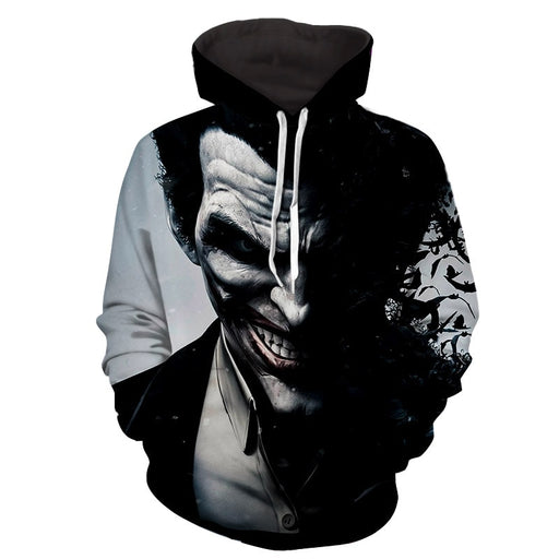 The Irrational Joker Face Design Full Print Hoodie