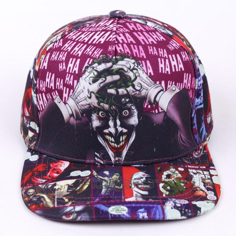 The Joker Swag Funky Hip Hop Snapback Baseball Hat Cap