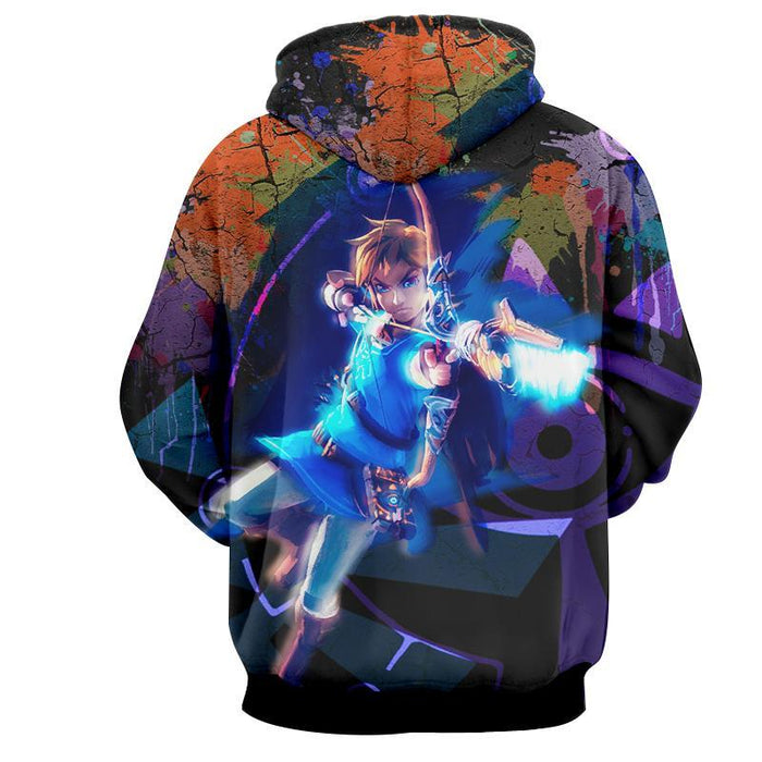 The Legend Of Zelda Awesome Link The Hero Of Time Hoodie