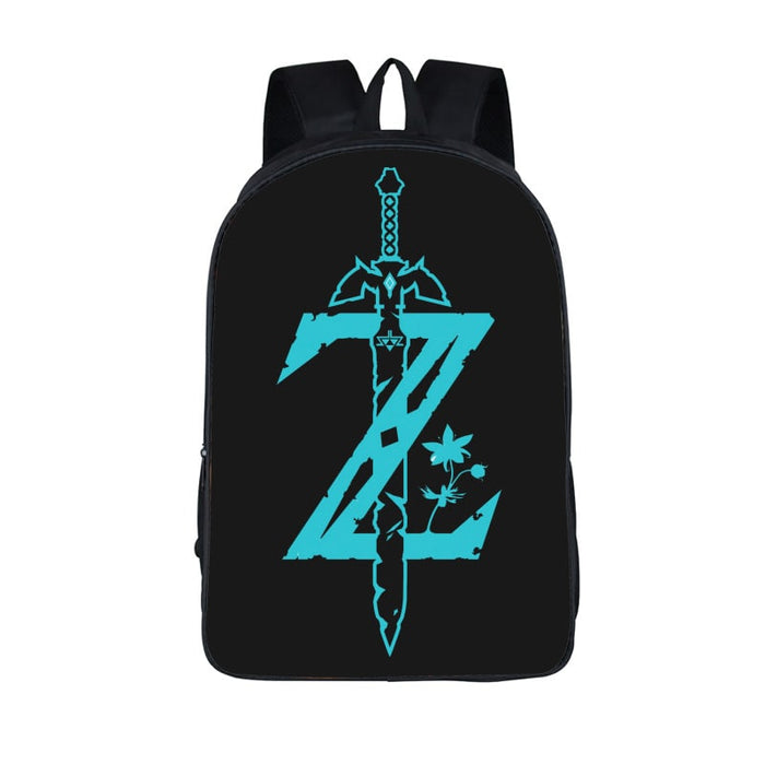 The Legend Of Zelda Breath Of The Wild Glowing Symbol Backpack Bag