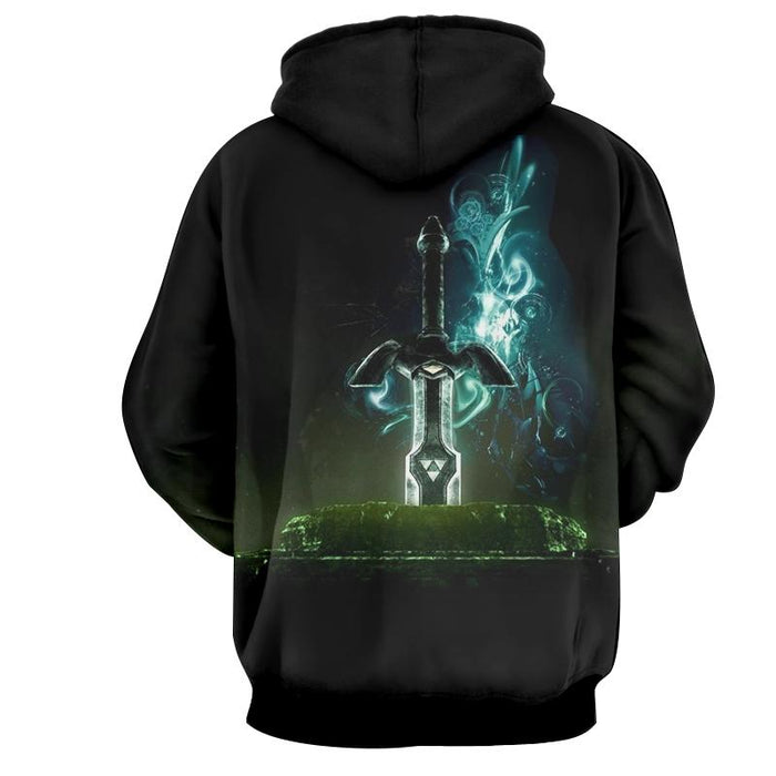 The Legend Of Zelda Powerful Awesome Skyward Sword Hoodie