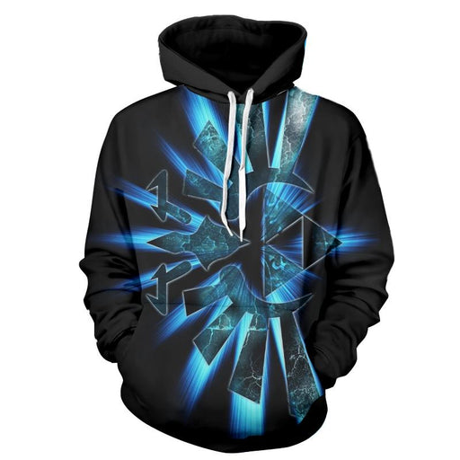 The Legend Of Zelda Shinning Sparkle Symbol Black Hoodie