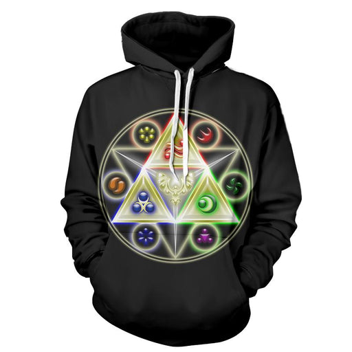 The Legend Of Zelda Stunning Symbol Of The Time Hoodie