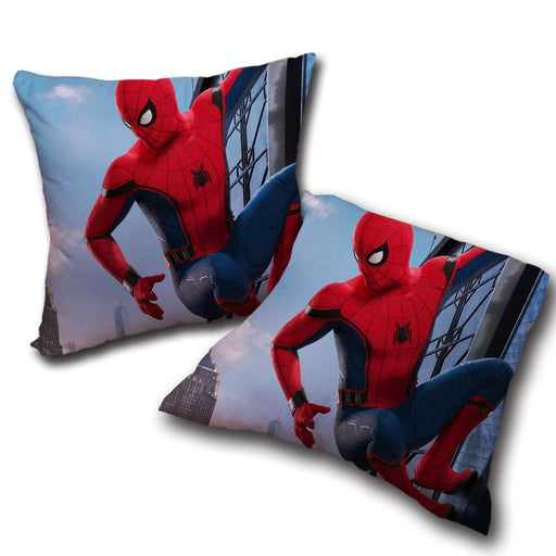 The Look at Spider-Man View Decorative Throw Pillow