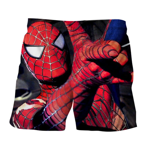 The Spider-Man Ability Unique Style Full Print Boardshorts