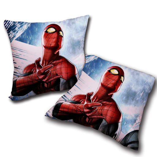 The Spider-Man Power Net Sign Decorative Throw Pillow