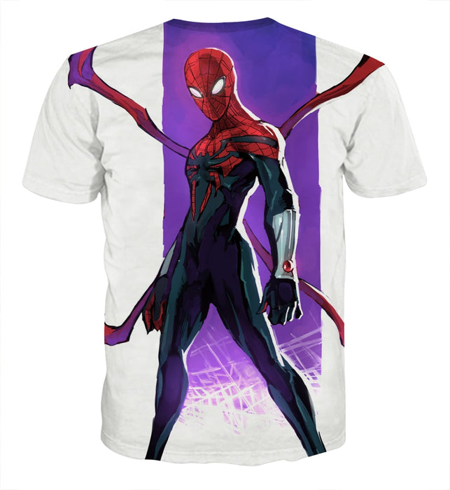 29182dfc3 The Spider-Man Weapon Cool Design Full Print T-Shirt — Superheroes Gears