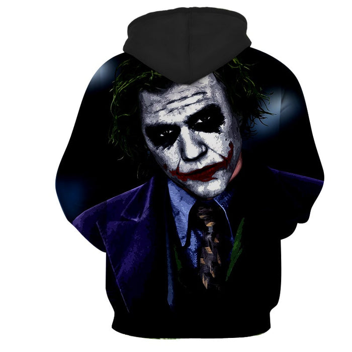 The Thoughtless Insidious Joker Design Full Print Hoodie
