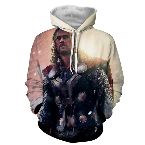 Thor Marvel Real Style Sunny Super Cool Impressive Hoodie