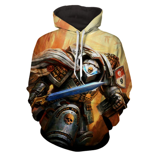 Warhammer 40k Grey Knights Terminator Elite Warrior Hoodie