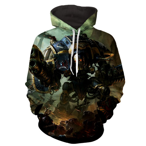 Warhammer Game Dark Imperium Battle Stylish Hoodie