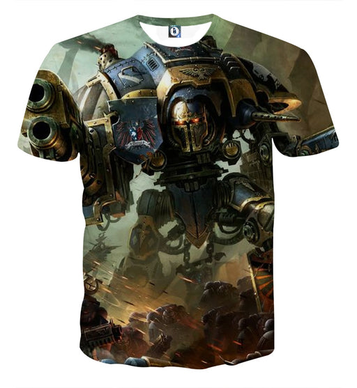 Warhammer Game Dark Imperium Battle Stylish T-shirt