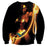Wonder Woman Powerful Golden Lasso Black Amazing Sweatshirt