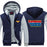 Wonder Woman Superman Wonder Letters Logo Hooded Jacket