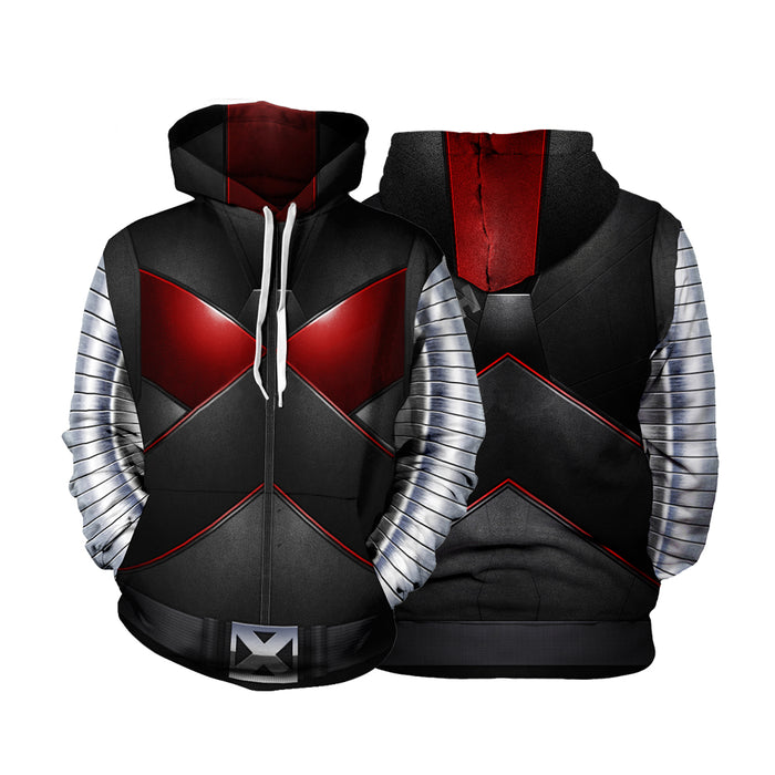 X-Men Mutant Colossus Piotr Rasputin Uniform Cosplay Hoodie