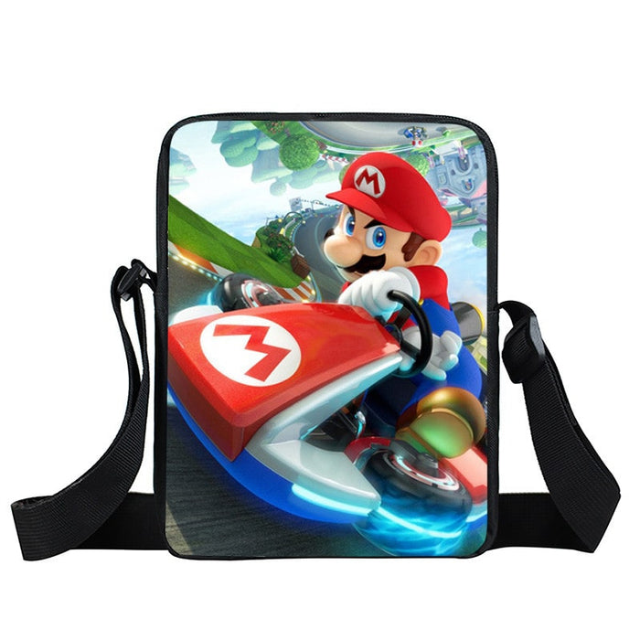 Super Mario Kart Racing Intense Driving Cross Body Bag