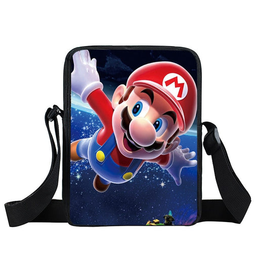 Super Mario Galaxy Awesome 3D Full Print Cross Body Bag