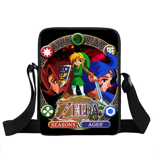 The Legend Of Zelda Oracle of Seasons & Ages Cross Body Bag