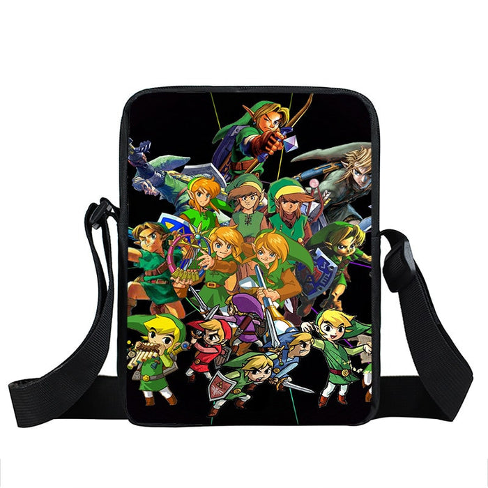 The Legend Of Zelda Majora's Mask Link Designs Cross Body Bag