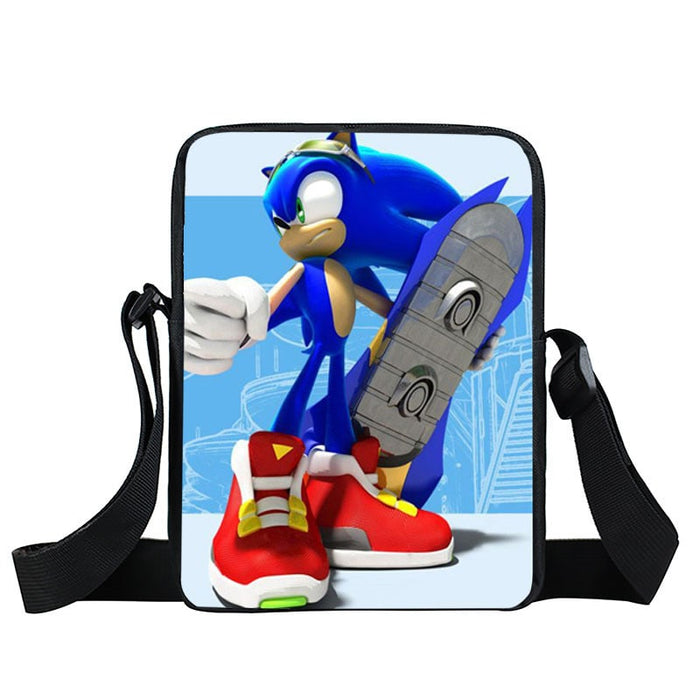 Fierce Sonic The Hedgehog Hover Board Cross Body Bag