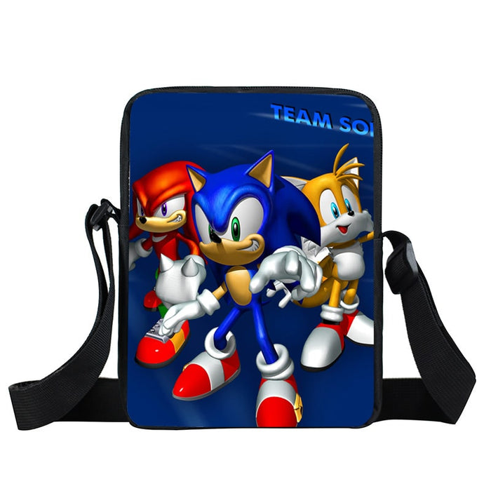 Sonic Heroes The Epic Team Sonic Blue Cross Body Bag