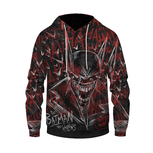 The Batman Who Laughs Bloody And Creepy Design Dope Hoodie