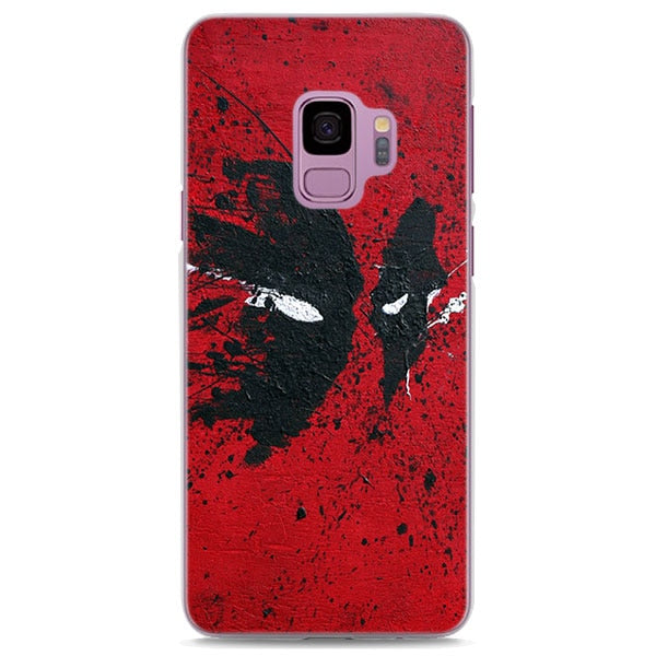 Deadpool Splatter Paint Art Samsung Galaxy Note S Series Case