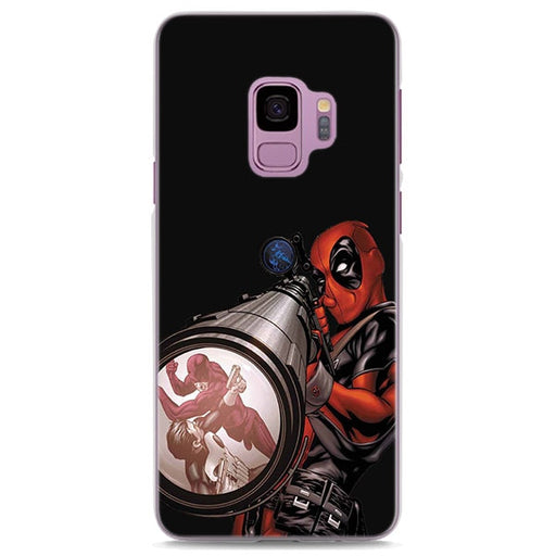Deadpool Comic Cover Black Samsung Galaxy Note S Series Case