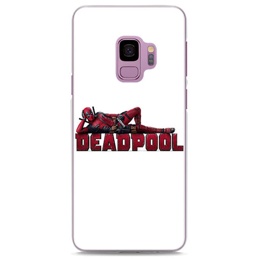 Deadpool Sexy Pose White Samsung Galaxy Note S Series Case