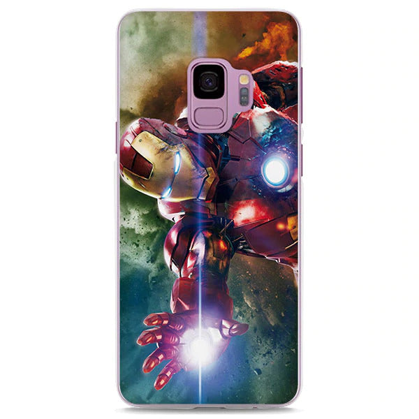 Marvel Iron Man Vintage Style Samsung Galaxy Note S Series Case