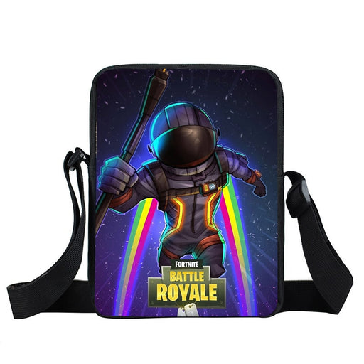 Fortnite Battle Royale Dark Voyager Rainbow Cross Body Bag
